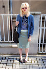 Blue-h-m-blazer-navy-mango-bag-bubble-gum-asos-sunglasses