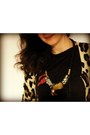 Animal-print-topshop-cardigan-mango-t-shirt-maslinda-necklace
