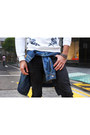 Black-black-jeans-acne-jeans-blue-denim-jacket-topman-jacket
