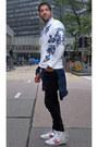 Black-black-jeans-acne-jeans-blue-denim-jacket-topman-jacket