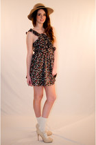 Brown-cotton-lucca-couture-dress