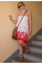 H&M dress - H&M purse - vagabond shoes - H&M earrings