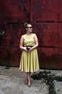 Yellow-cotton-micimici-dress