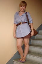Ralph Lauren shirt - H&M shorts - united colors of benetton purse - Thomas Pink
