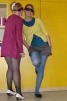 Zara sweater - Orsay shorts - Calzedonia tights