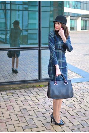 black liu jo bag - dark gray Zara dress