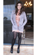 sretsis dress - sretsis jacket - Mulberry shoes