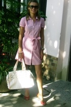 H&M dress - Zara - some Italian brand shoes - christian dior sunglasses