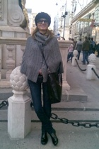 H&M jacket - Zara jeans - christian dior sunglasses - - alberto guardiani boots