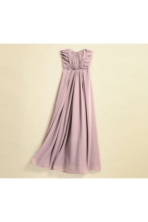 light purple sweatereetheart H&amp;M dress