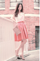 salmon romwe dress