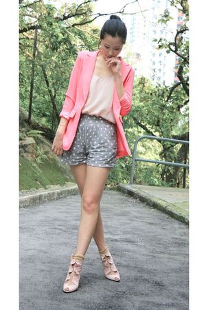 pink Anna Rose blazer