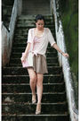 Pink-h-m-shirt-pink-pull-bear-intimate-beige-chloe-shoes