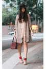 Heather-gray-vintage-coat-crimson-vintage-bag-neutral-shoe-girl-shoes