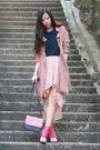 Navy-future-classics-blouse-light-pink-urban-blues-skirt-eggshell-celine-hee