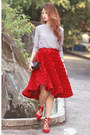 Black-amelie-street-bag-red-aquazzura-flats-red-front-row-shop-skirt