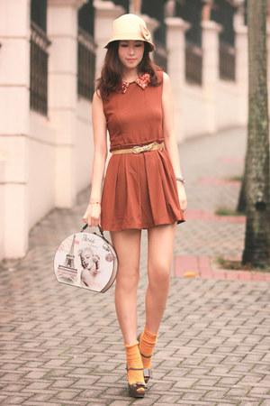 tawny Chicwish dress - heather gray Miu Miu heels