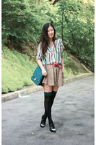 green franco shirt - beige general page 323 shorts - black alexandar wang shoes