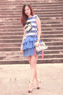 Violet-smooch-dress-bubble-gum-quendoline-bag-blue-romwe-top
