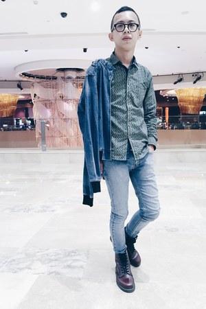 Dr Martens boots - Topman jeans