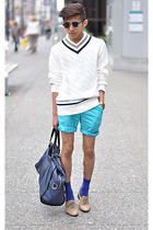 white Club Monaco sweater