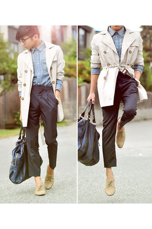 beige Zara coat