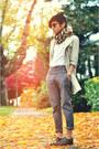 White-moms-shirt-vintage-shirt-dark-brown-slip-ons-giorgio-armani-shoes