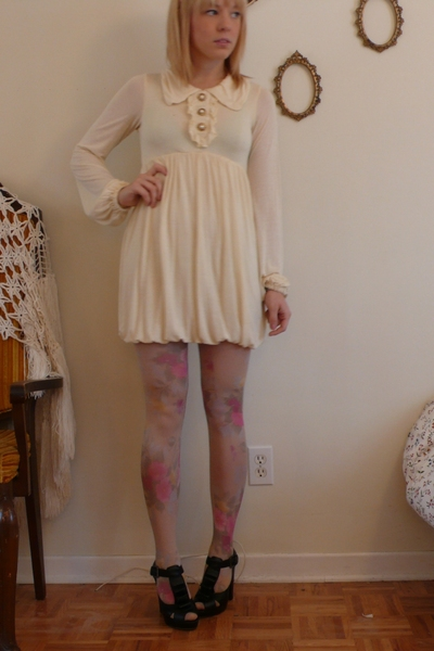 dress - H&M tights - Aldo shoes