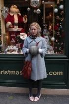 erlebacher coat - vintage from Ebay shoes - deux luxe purse