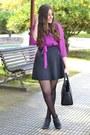 Deichmann-boots-lucloset-dress-michael-kors-bag-stradivarius-skirt