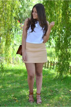 Zara top - Zara skirt - Zara sandals