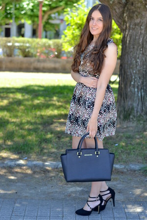 CNdirect dress - Michael Kors bag - Marypaz heels