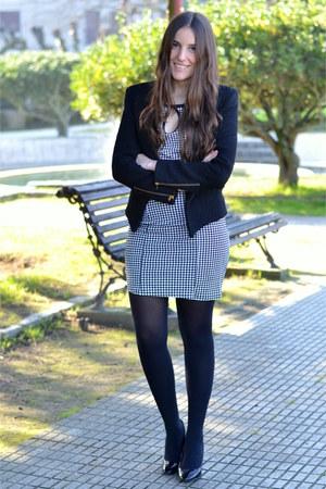 Sheni jacket - Dressin dress - Zara heels