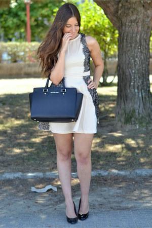 Michael Kors bag - CNdirect dress - patent leather Zara heels