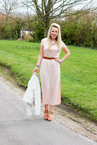 maxi Topshop dress - unforgettable Danie Footwear sandals