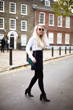 wool skirt COS skirt