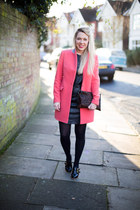 pink coat Reiss coat