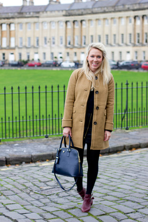 camel Boden coat