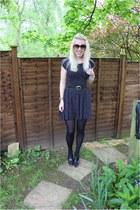 star print Sheinside dress - collection Marni H&M heels