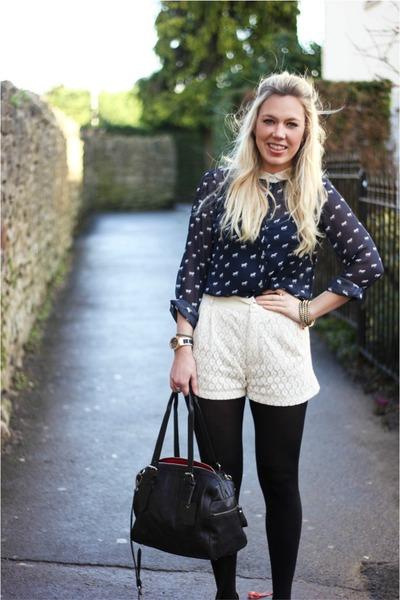 Zara shirt - sugarhill boutique shorts