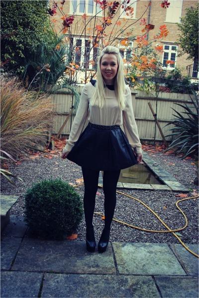 Pull & Bear skirt - wendy mina blouse
