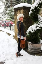 jack wills jumper - studded Zara boots