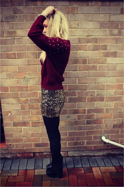sequins Krisp Clothing skirt - studded lavish alice jumper