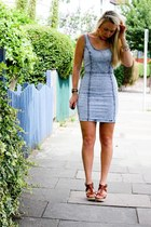 denim warehouse dress