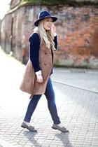 suede Miss Selfridge coat