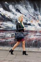midi tartan Missguided skirt