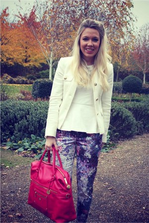 alice tote Knomo bag - print H&M pants
