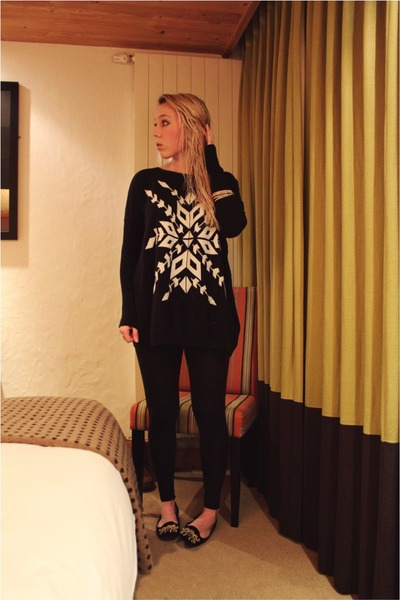 snowflake AX Paris jumper