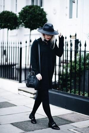 gray fedora asos hat