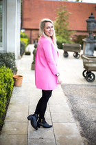 pink coat Zara jacket